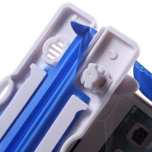 Nox7 vodotesný obal pre mobil do rozmerov 16.5 x 9.5 cm - modrý - 6