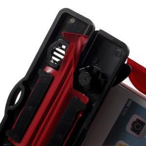 Nox7 vodotesný obal pre mobil do rozmerov 16.5 x 9.5 cm - červený - 6