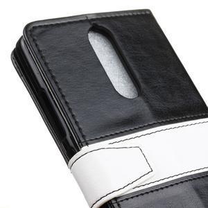 Colory knížkové pouzdro na Lenovo K5 Note - černé - 7