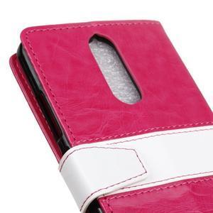Colory knížkové pouzdro na Lenovo K5 Note - rose - 7