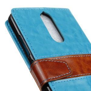 Colory knížkové puzdro pre Lenovo K5 Note - modré - 7