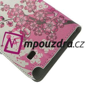 Peňaženkové puzdro pre Samsung Galaxy Note 4- kvitnúca vetvička - 7