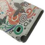 Peňaženkové puzdro na Samsung Galaxy Note 4- barevní motýlci - 7/7