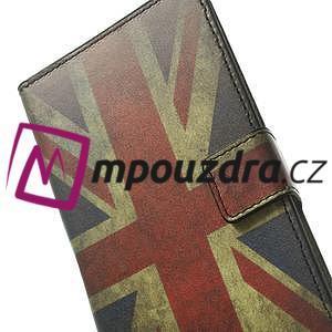 Peňaženkové puzdro na Samsung Galaxy Note 4- UK vlajka - 7