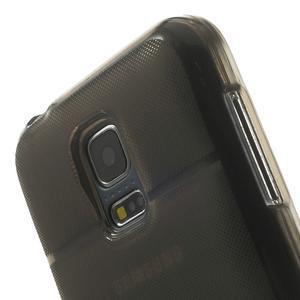 Gélové puzdro na Samsung Galaxy S5 mini G-800- vesta šedá - 7