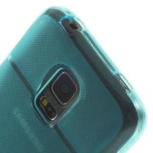 Gelové pouzdro na Samsung Galaxy S5 mini G-800- vesta světlemodrá - 7
