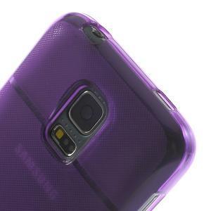 Gélové puzdro pre Samsung Galaxy S5 mini G-800- vesta fialová - 7