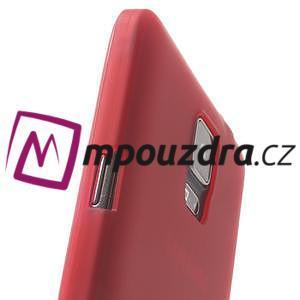 Gélové puzdro na Samsung Galaxy Note 4- červené - 7