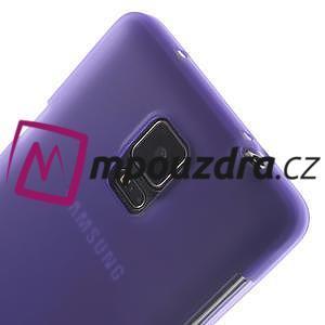 Gélové puzdro pre Samsung Galaxy Note 4- fialové - 7