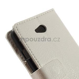 Peňaženkové puzdro pre LG L65 D280 - biele - 7
