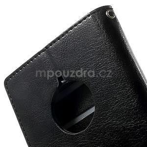 Peňaženkové puzdro na Nokia Lumia 830 - čierné - 7