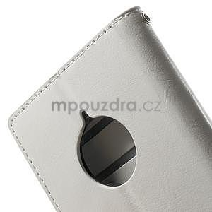 Peňaženkové puzdro na Nokia Lumia 830 - biele - 7
