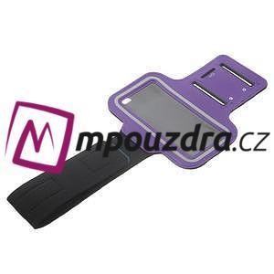 BaseRunning puzdro na ruku pre telefony do 125*60 mm - fialové - 7
