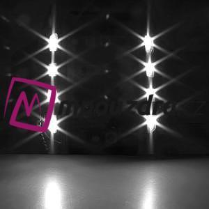 RX7 LED svietiace športové puzdro na ruku pre telefony do 165*85 mm - čierne - 7
