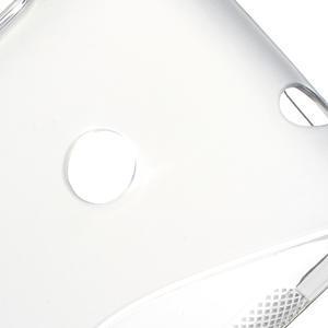 Gélové S-line puzdro na Nokia Lumia 520- sivé - 7