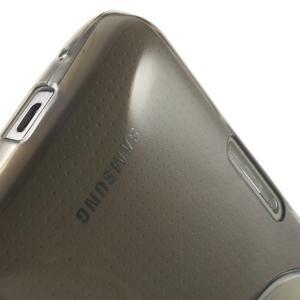 Gélové Ultraslim puzdro na Samsung Galaxy K Zoom- šedé - 7
