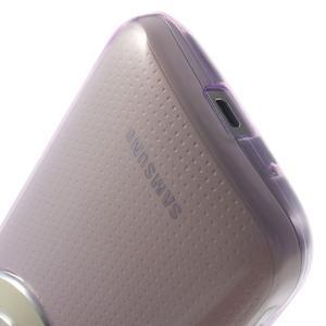 Gélové Ultraslim puzdro na Samsung Galaxy K Zoom- fialové - 7