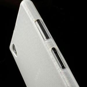 Kartáčované puzdro pre Sony Xperia Z1 C6903 L39- biele - 7