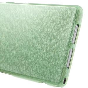 Kartáčované pouzdro na Sony Xperia Z1 C6903 L39- zelenmodré - 7