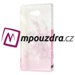 Gélové puzdro na Sony Xperia M2 D2302 - kvetoucí větvička - 7