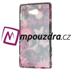 Gélové puzdro na Sony Xperia M2 D2302 - motýlci - 7