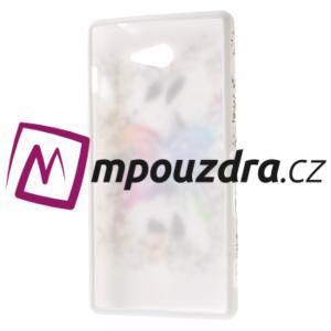 Gélové puzdro na Sony Xperia M2 D2302 - motýl - 7
