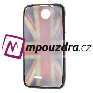 Gélové puzdro pre HTC Desire 310- UK vlajka - 7