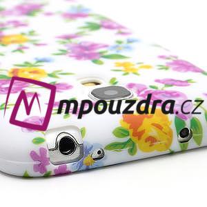 Gélové puzdro pro Samsung Galaxy S4 mini i9190- elegantní kvetina - 7