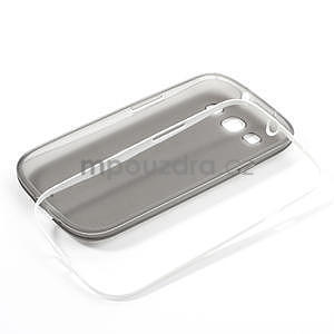 Gélové rámované puzdro pre Samsung Galaxy S3 i9300- šedé - 7