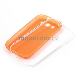 Gélové rámované puzdro pre Samsung Galaxy S3 i9300- oranžové - 7