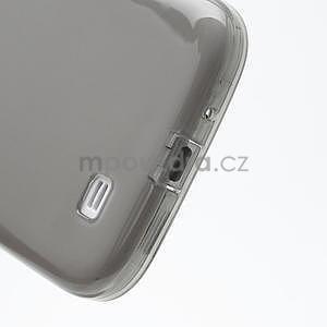 Gélové slim puzdro na Samsung Galaxy S4 i9500- šedé - 7