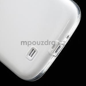 Gélové slim puzdro na Samsung Galaxy S4 i9500- biele - 7