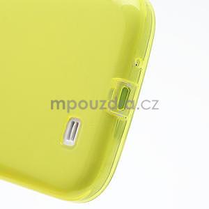 Gélové slim puzdro na Samsung Galaxy S4 i9500- žlté - 7