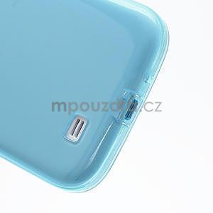 Gélové slim puzdro na Samsung Galaxy S4 i9500- modré - 7