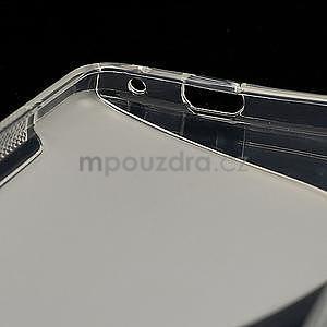 Gélové S-line puzdro pre HTC one M7- transparentný - 7