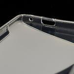 Gélové S-line puzdro pre HTC one M7- transparentný - 7/7