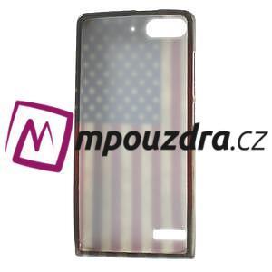 Gélové puzdro na Huawei Ascend G6 - USA vlajka - 7