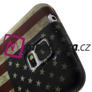 Gélové puzdro pre Samsung Galaxy S5- USA vlajka - 7