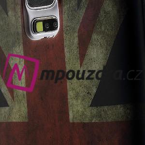 Gelové pouzdro na Samsung Galaxy S5- UK vlajka - 7