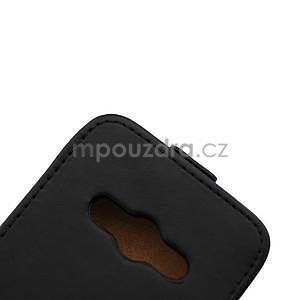 Flipové puzdro na Samsung Galaxy Xcover 3 - čierné - 7