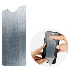 Horse PU kožené peněženkové pouzdro na LG G5 - černé - 7