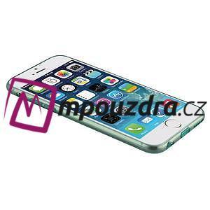 Ultra slim 0.7 mm gélové puzdro na iPhone 6, 4.7  - modré - 7