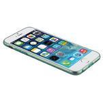 Ultra slim 0.7 mm gélové puzdro na iPhone 6, 4.7  - modré - 7/7