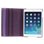 PU kožené 360° puzdro pre iPad mini- fialové - 7/7