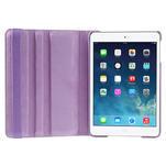 PU kožené 360° puzdro pre iPad mini- svetlefialové - 7/7