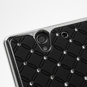 Drahokamovej puzdro pre Sony Xperia Z L36i C6603- čierné - 7