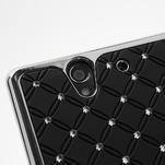 Drahokamovej puzdro pre Sony Xperia Z L36i C6603- čierné - 7/7