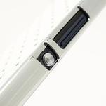 Drahokamové puzdro na Sony Xperia Z L36i C6603- biele - 7/7