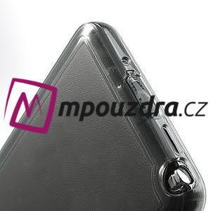 Gélové hybrid puzdro na Samsung Galaxy Note 3- šedé - 7