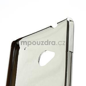 Drahokamové puzdro pre HTC one M7- biele - 7